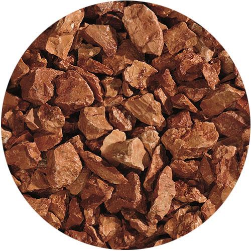 Granulati di pietra naturale rosso verona di Granulati Zandobbio